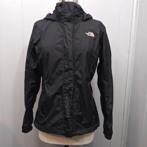 The North Face Black Windbreaker/Rain Coat Sz S